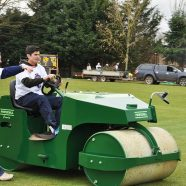 Alastair Cook enjoys boys toys…