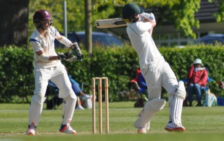 Harry Senior in action vs Millfield