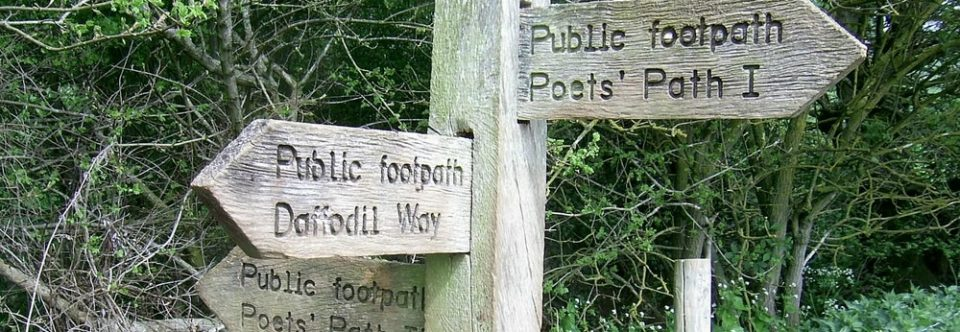 Poets Path Potter – Saturday 23rd March 2019 – Start 9.00am